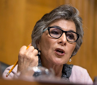 Barbara Boxer Could Not Take Notes On TPP
