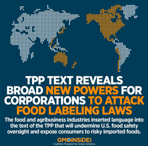 TPP Undermines Food Safety