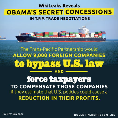 TPP Secret Trade Deal